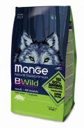 Monge Bwild Dog Boar корм для взрослых собак всех пород с мясом дикого кабана 2 кг